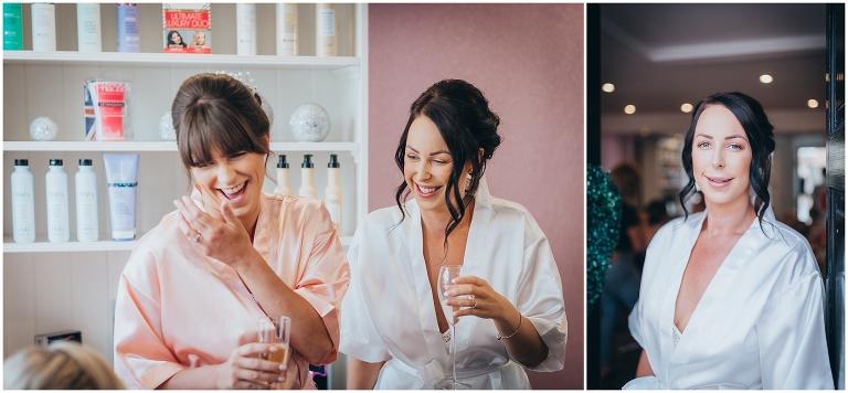 Lavish Hair Salon Wedding