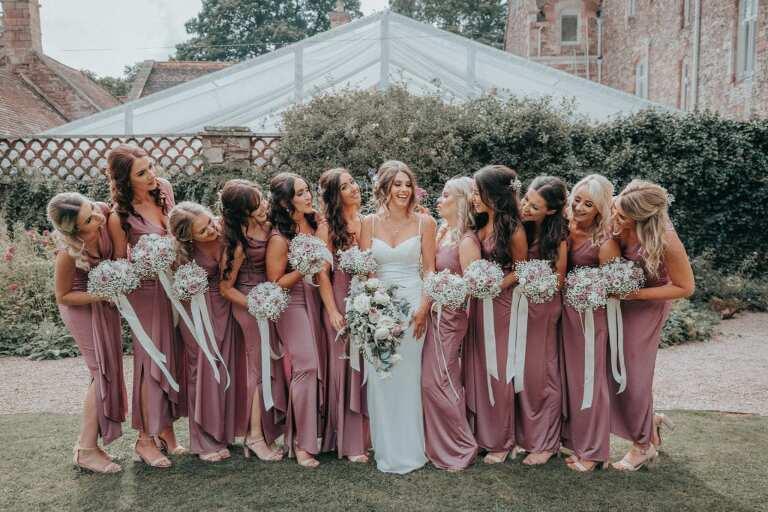 Cefn Tilla Court Bridesmaids